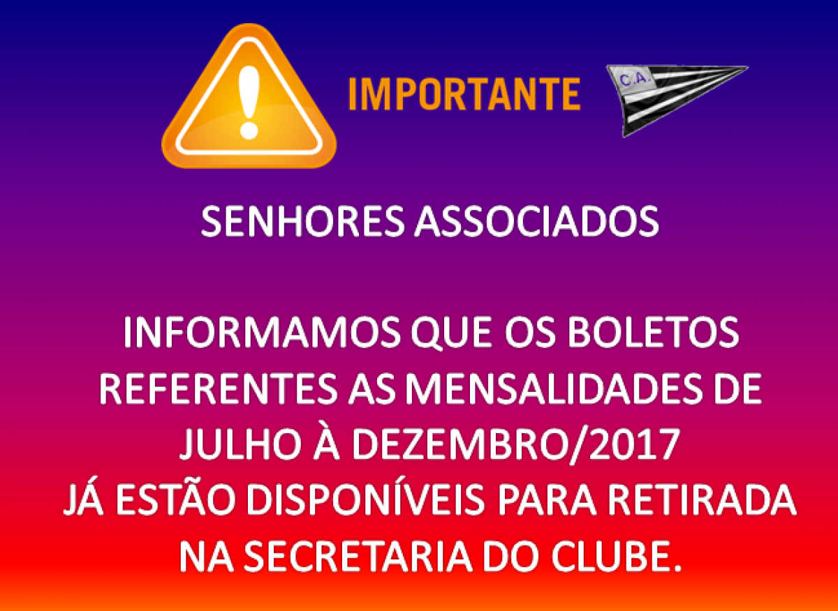 Retire seus boletos !