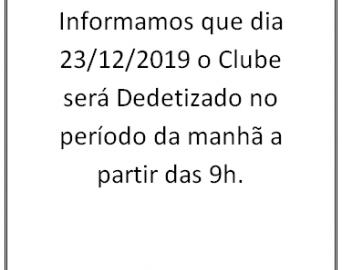 dedetização clube