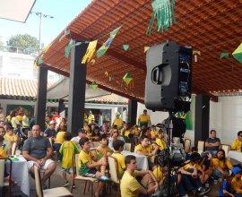Jogo Brasil e Suiça