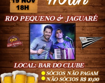 Vem aí Happy Hour do C.A.