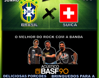 Jogo do Brasil x Suiça