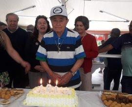 101 anos Sr. Genez Parise